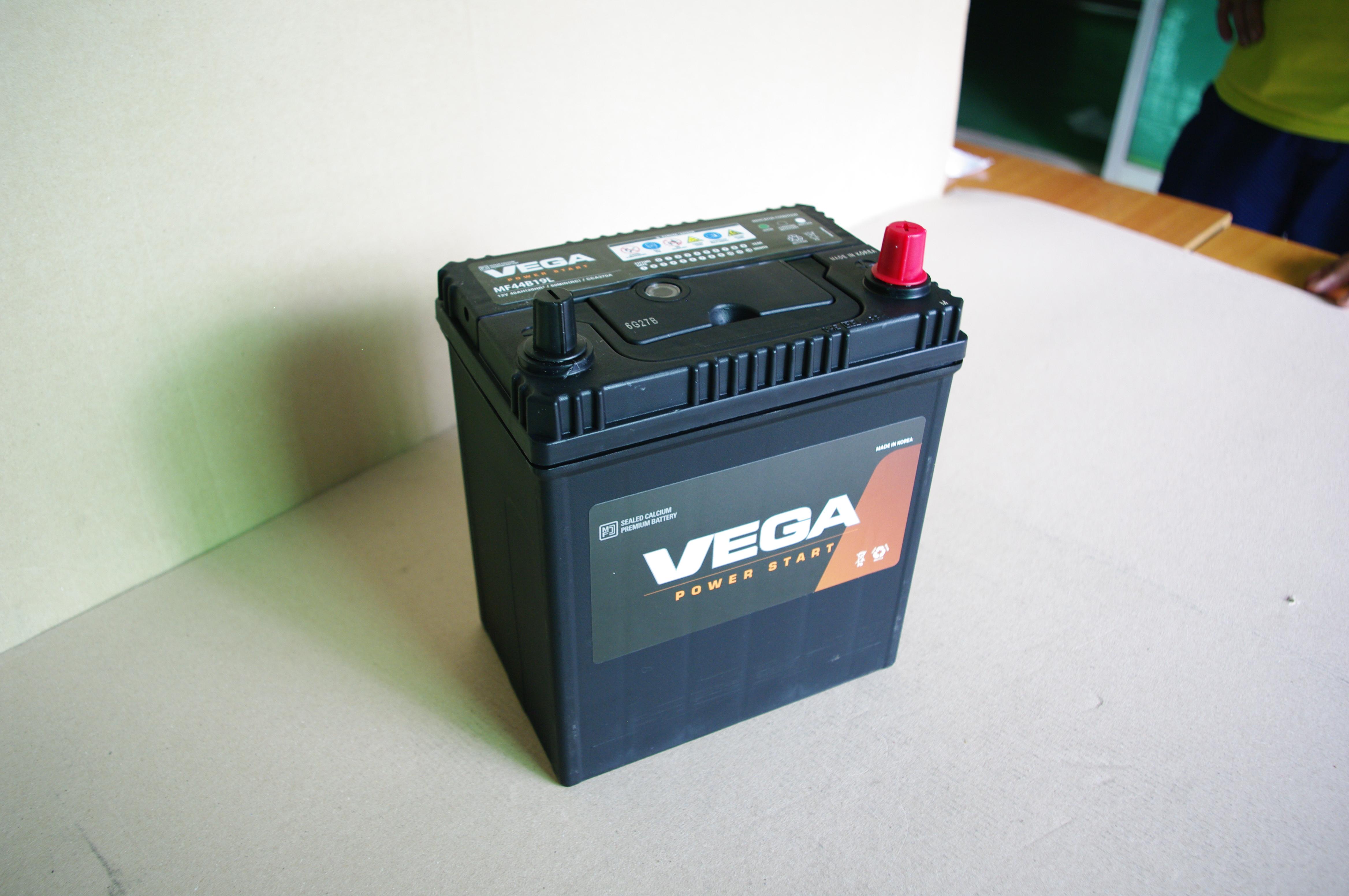 Ắc quy VEGA MF44B19L (12V-35AH)