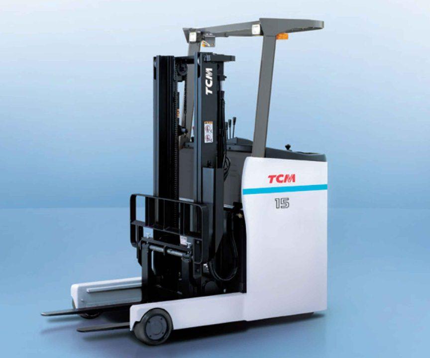 Xe nâng điện TCM FRB-8A (Stand-up, 1.0 - 3.0 ton)
